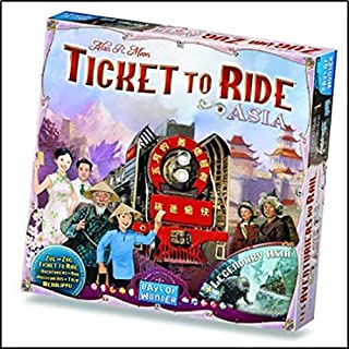 Days Of Wonder Ticket To Ride - Vol 01: Asia Board & Card Games