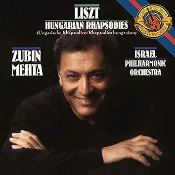 Liszt: 6 Hungarian Rhapsodies, S. 359