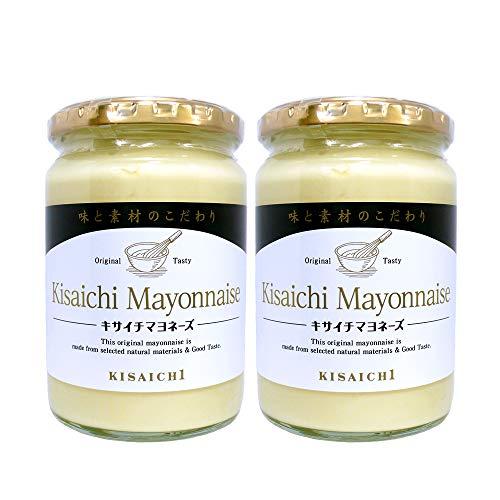私市醸造 キサイチ マヨネーズ 330g×2本 新ボトル 化学調味料不使用