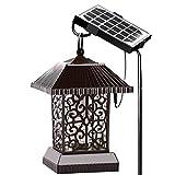 Bug Zapper Light, Panneau solaire extérieur anti-moustiques imperméable + Câble de données de support Insecte d'extérieur automatique Kill Light