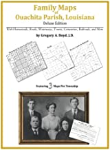 Family Maps of Ouachita Parish, Louisiana