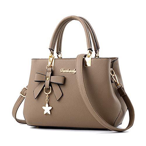 CMZ Backpack, Handbag, Female Bag, Bowknot, Large-Capacity one-Shoulder Messenger Bag, Fashionable Mother and Lady Bag
