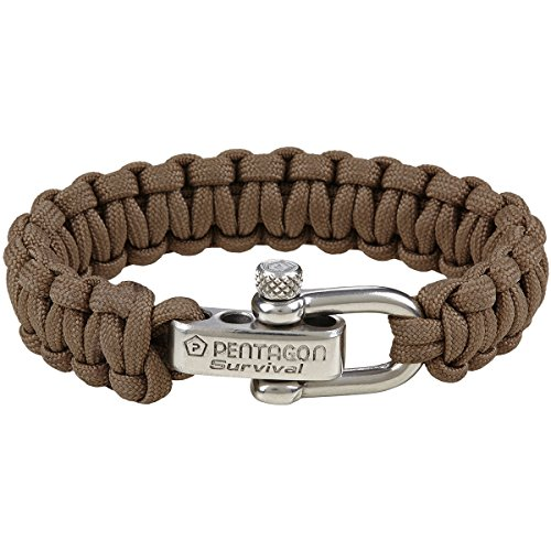 Pentagon Survival Armband Coyote