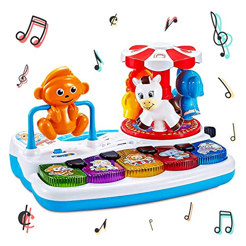Think Gizmos Interactive Amusement Park TG701 - Musical Activity Baby Toy for Toddler Boys & Girls Aged 1 2 3+