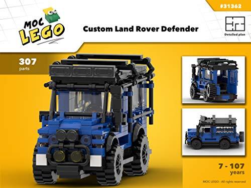 Custom Land Rover Defender (Instruction Only): MOC LEGO (English Edition) eBook: Paquette, Bryan: Amazon.es: Tienda Kindle
