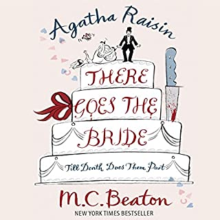 Agatha Raisin: There Goes the Bride cover art