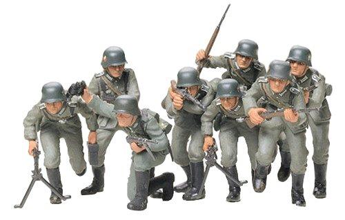 Tamiya 300035030 - 1:35 WWII Figurenset Deutsche Infanterie (8)