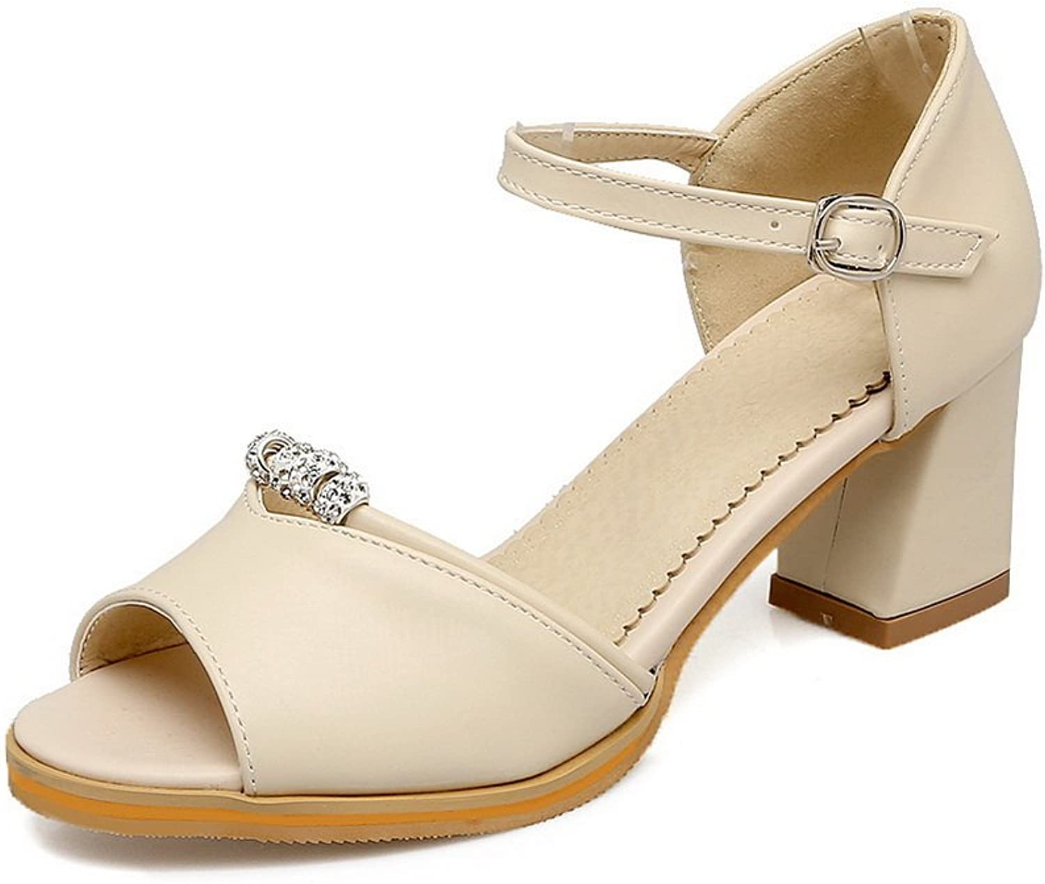 1TO9 Womens Cold Lining Dress Non-Marking Urethane Sandals MJS03345