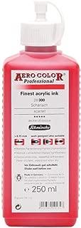 Schmincke : Aero Color Finest Acrylic Ink : 250ml : Scarlet