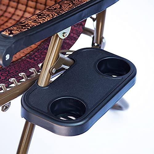 Nicejoy Sun Stuhl Seitenfach, Becherhalter, Kunststoff-Clip Auf Beistelltisch Tray Mit Cup-Speicher-Halter 2pcs