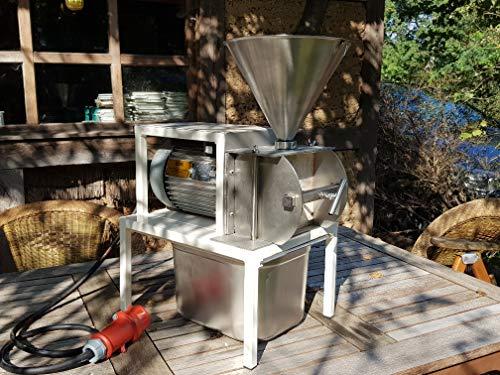 WIDU Kl. Bäckermühle Mod. IV 400V Lärche (Edelstahl, 230 Volt)