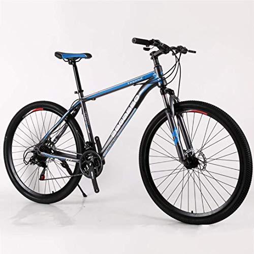 CHHD Bicicleta de montaña Bicicleta de montaña de 29 Pulgadas con suspensión de Acero con Alto Contenido de Carbono