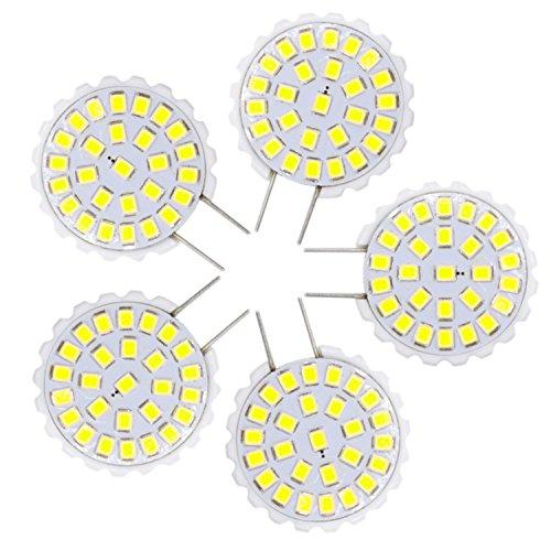 WELSUN LED G8 Bombilla de luz 2835 SMD 27LED 1.5W 100-150Lm blanco cálido Lámpara de araña blanca…