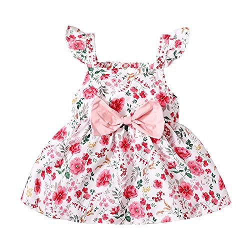 YWLINK Vestido De Princesa para Bebé NiñA Vestido Elegante De ImpresióN con...