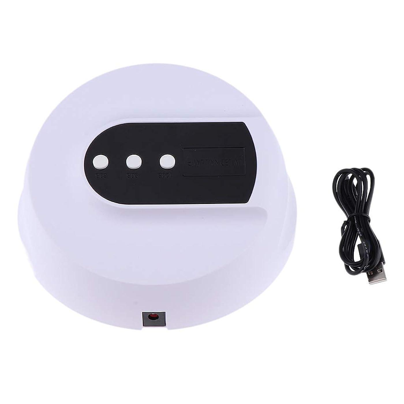 ずらすネストベンチDYNWAVE 全3色 ネイルランプ ネイルドライヤー LEDライト UVネイルランプ ポリッシュ用 - 36W