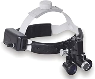 Medical Dental Surgical Loupes, 3.5X Goggles Frame Binocular High Magnifying Glasses for Brain Cardiac Surgery