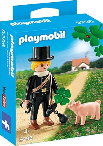Playmobil 9296 - Schornsteinfeger mit Glücksschweinchen
