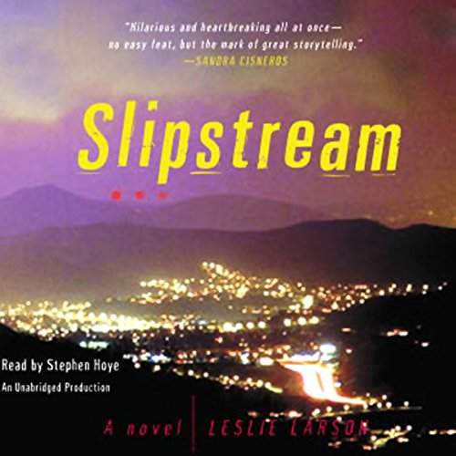 Slipstream audiobook cover art
