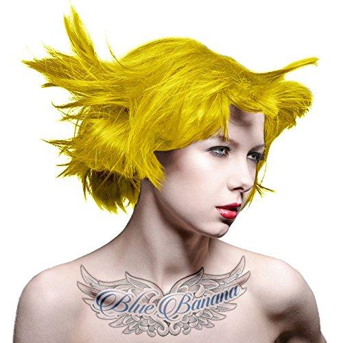 Manic Panic High Voltage Hair Dye - Vegan Hair Dye - Sunshine (bright yellow) 118ml by Manic Panic (English Manual)