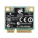 Ontracker - Tarjeta Wi-Fi inalámbrica (150 m, 802.11b/g/n, mini tarjeta PCI para H-P Atheros AR5B95 605560-005)