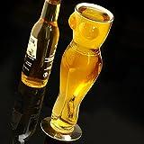 bar@drinkstuff Sexy Frauentorso-Bierglas, Geschenk für Männer, Erwachsene, ca. 0,5 l, geschenkverpackt - 2