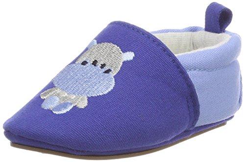 Sterntaler Baby-Schuh mit rutschfesten Sohlen für Jungen, Alter: 4-6 Monate, Größe: 16, Farbe: Blau, Art.-Nr.: 2301853 thumbnail