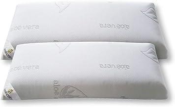 Seasons-Pack 2 almohadas viscoelasticas 70 cms, Antiácaros