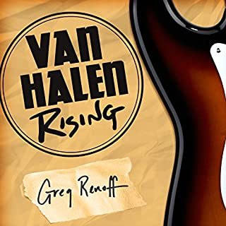 Van Halen Rising audiobook cover art