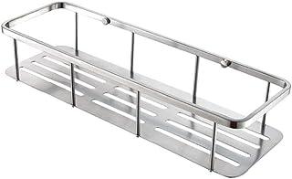 LOSYU Étagères d'angle de salle de bains SUS304 Étagère de rangement grande capacité for produits de toilette en acier ino...