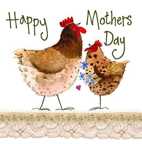 Alex Clark Spring Chick - Tarjeta para el día de la madre
