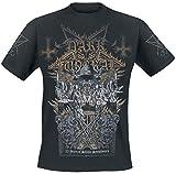 Photo de Dark Funeral 25 Years of Satanic Symphonies Homme T-Shirt Manches Courtes Noir L