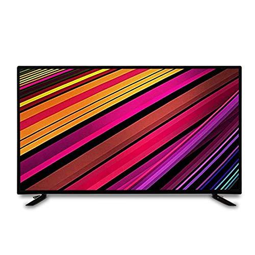 YILANJUN TV por Internet - Televisor Calidad de Imagen 4k HD de 24/32/37/40/43/50/55/60 Pulgadas (FullHD), WiFi Incorporado, Interfaces Ricas, Sonido Estéreo Envolvente, Antivibración MEMC