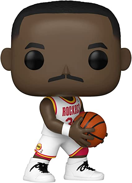 Funko Pop! NBA: Legends - Hakeem Olajuwon (Houston Rockets Home Jersey) Collectible Vinyl Figure