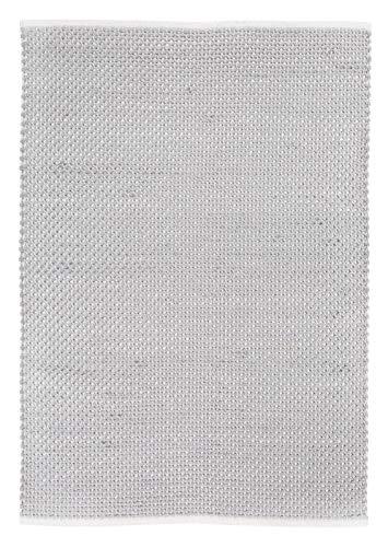 Luxor Living Teppich Skive Hygge-Stil Webteppich Baumwolle & Wolle Pastellfarben, Farbe:Grau,...
