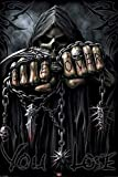 Game Over Reaper - Spiral - Fantasy Poster - Grösse