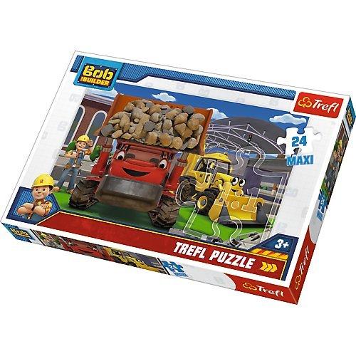 Puzzle 24 Maxi Damy rade Bob Budowniczy