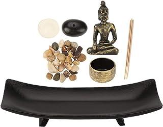 Tabletop Buddha Statue Buddha Statue Zen Garden Sand Meditation Peaceful Relax Decor