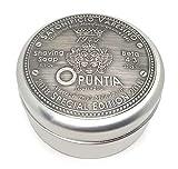 Saponificio Varesino Opuntia Edición Especial Rígido Afeitado Jabón 150G Puck en Edición Limitada Caja de Aluminio