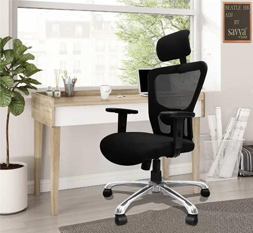 Savya Home Beatle High Back Office Chair (Beatle HB AL ADJ)