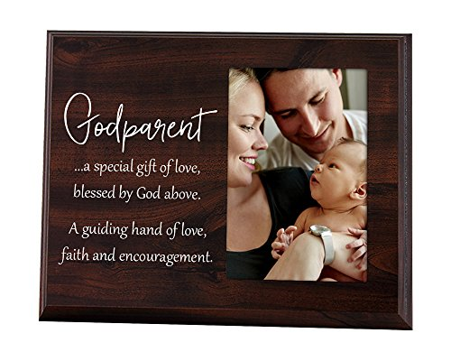 Baptism Gift for Godparents Picture Frame A Special Gift