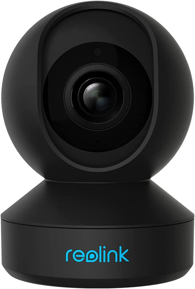 Reolink E1 Pro 4MP HD Plug-in Home Security Indoor Camera with 2.4/5 GHz Wi-Fi, Two Way Talk, Motion Alert, Multiple Storage Options, Works with Google Assistant, Ideal for Baby Monitor/ Pet Camera