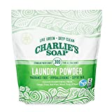 Product Image of the Charlie's Soap Laundry Powder (300 Loads, 1 Pack) Fragrance Free Hypoallergenic Deep Cleaning Washing Powder Detergent – Biodegradable Laundry Detergent That Is Eco-Friendly, Safe, and Effective