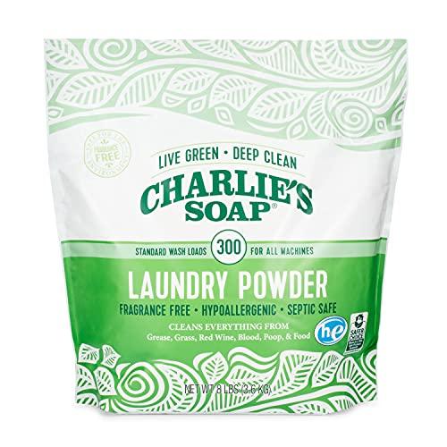 Charlie & #039; s Jabón en polvo para ropa sin fragancia Imagen del producto