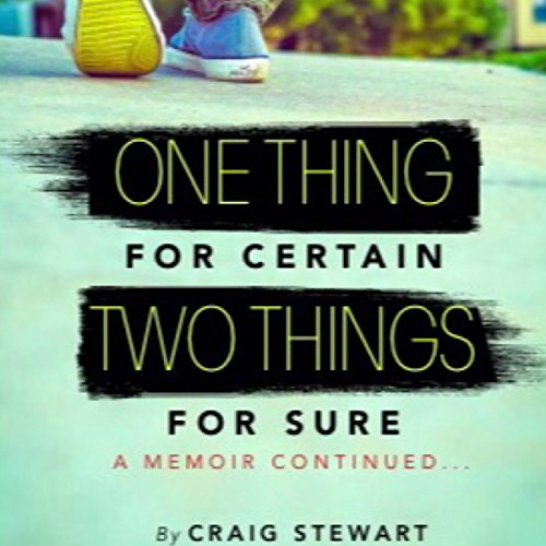 One Thing for Certain, Two Things for Sure audiobook cover art