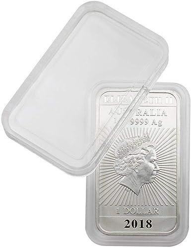 Lindner S2255384 Münzkapseln für 1 1 2 Unzen Polar Bear (Silber), Innenh   4,8 mm - 100er Pack