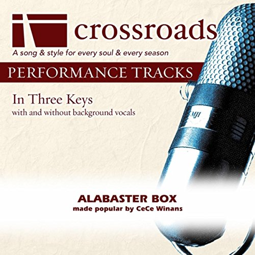 Alabaster Box (Performance Track without Background Vocals in E)
