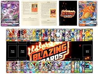 70 Pokemon Cards - 5 Holo Cards Including 1 Pokemon GX, VMAX, EX OR V - Pokemon Deck Box - Pokemon Playmat - Pokemon Ruleb...