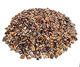 Tigerauge Mini Trommelsteine 100 gramm Chips 5 mm Durchmesser