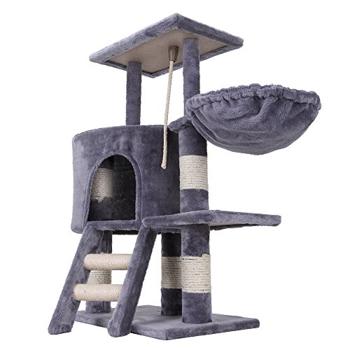 Confidence Pet Deluxe Cat Tree Scratch Post Climbing Tower Play Frame G