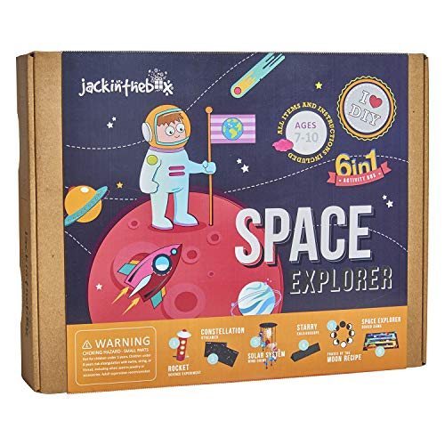 Jack-in-the-Box Space Themed STEM Educational Craft Toy review